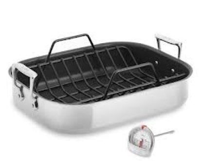 POT & PAN BIMA CHEFS AL ROASTING PAN NON STICK  1 al_roasting_pan